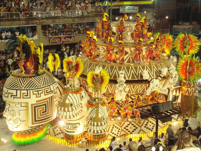 Brazil celebrates Carnival in Rio de Janeiro, but also Salvador de Bahia, Recife, Paraty, and other cities.
