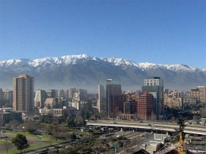 Santiago, with the gorgeous Andes Mountains as a backdrop, is a growing Chile travel destination.