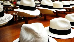 Panama hat, Ecuador travel