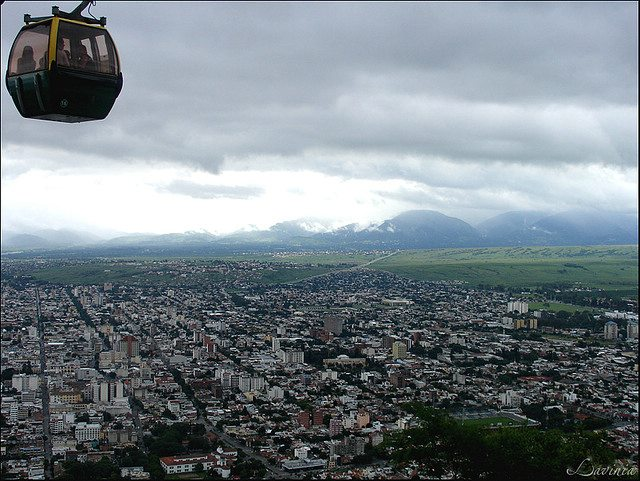 Cable Car, Salta Tours, Saint, Bernardo Hill, Cerro San Bernardo