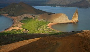 Beautiful terrain at the Galapagos Islands
