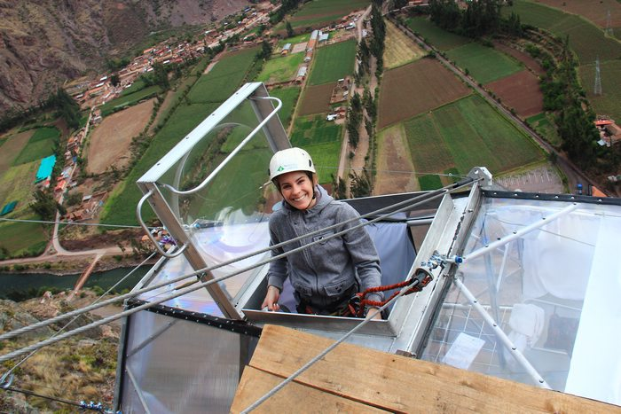 Natalia, Skylodge Adventure Suites, Peru Travel Aid