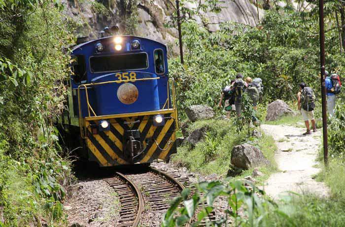 train, machu picchu, cusco, peru travel aid