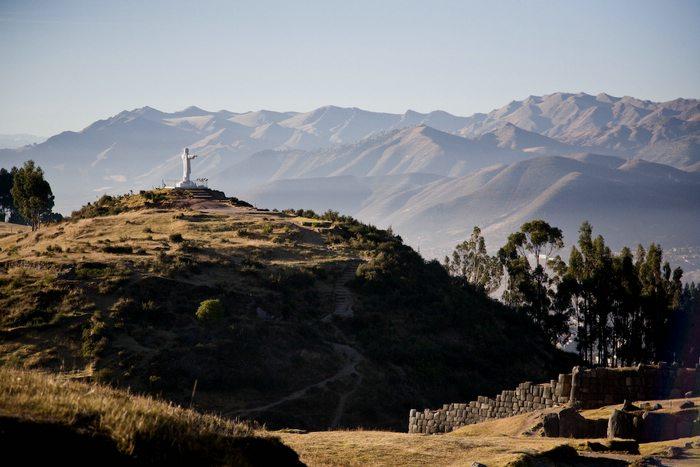 view of Cristo Blanco