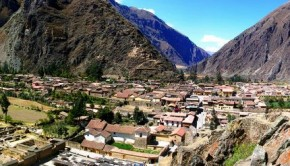 Ollantaytambo in the Sacred Valley