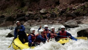 River rafting in the Sacred Valley