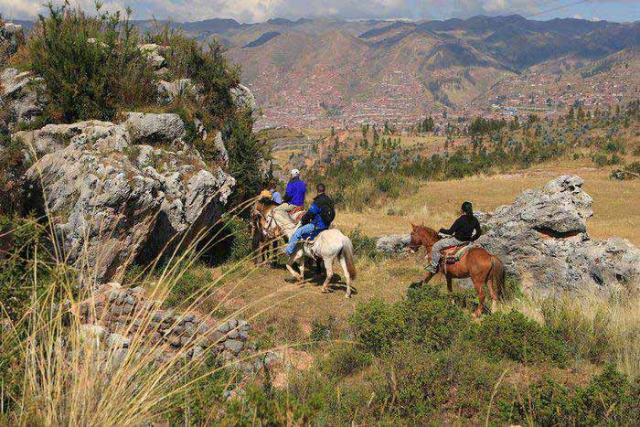 horseback riding near Cusco