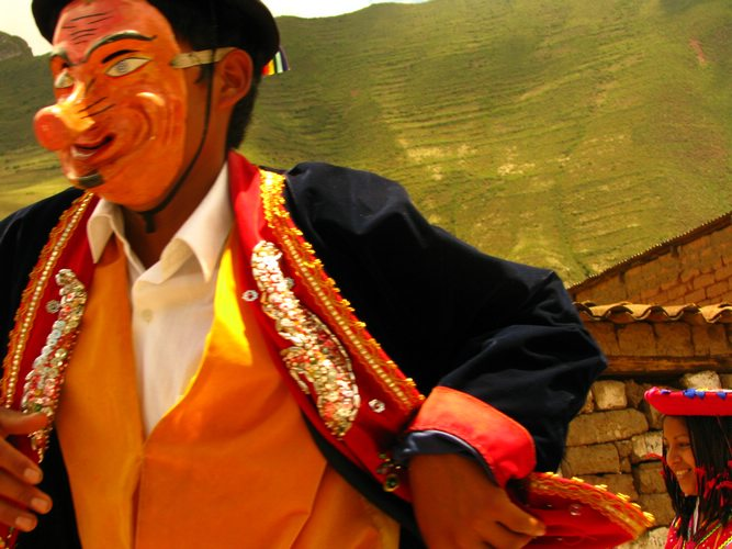 Ukuku dance in Cusco