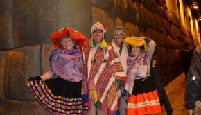 dressed up in Cusco