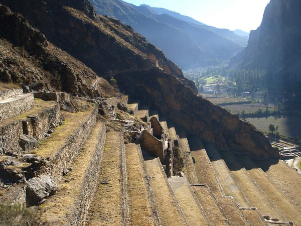 Ollantaytambo terraces