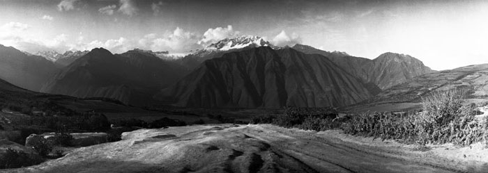 Sublime landscapes in the Sacred Valley