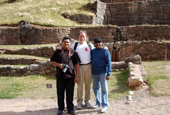 Dr S. Hadi Abdullah and his Macchu Picchu tour guides