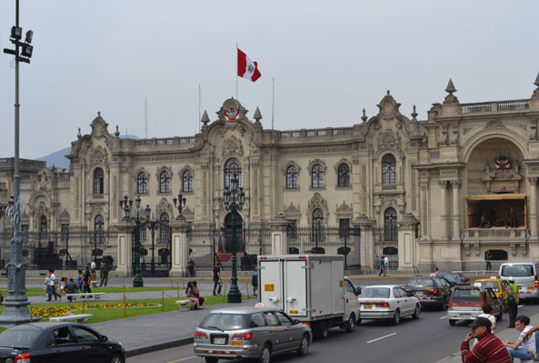 Government buildings in Lima