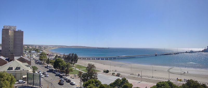 Vista of Puerto Madryn, Photo by Banfield, Creative Commons