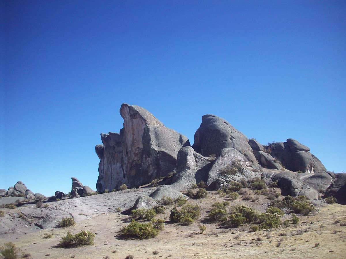 Mysterious rock formations at Marcahuasi