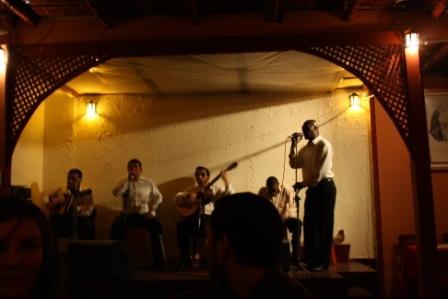 Pena scene, Barranco, Lima tour