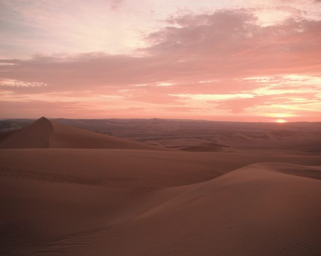 Huacachina sunset