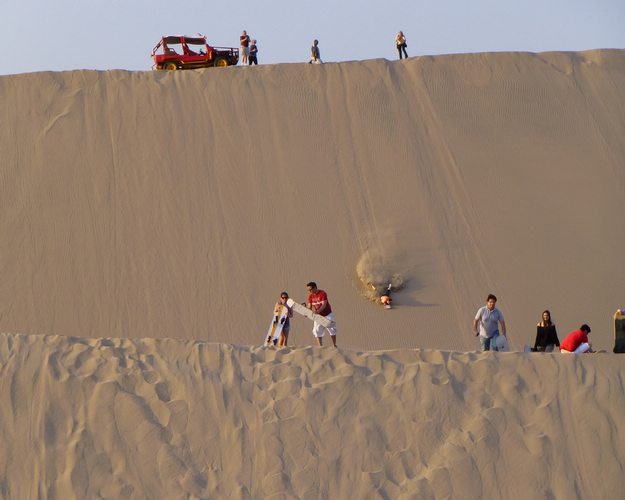 Peru Travel Guide Huacachina Oasis on the end of life