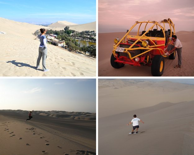 sandboading adventure in Huacachina