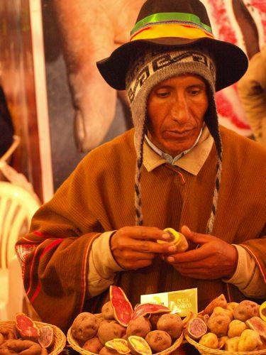 Peru Potato, Andean farmer, Peru cuisine, Peru Food, Peru For Less