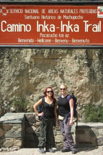 Entrance to the Inka Trail