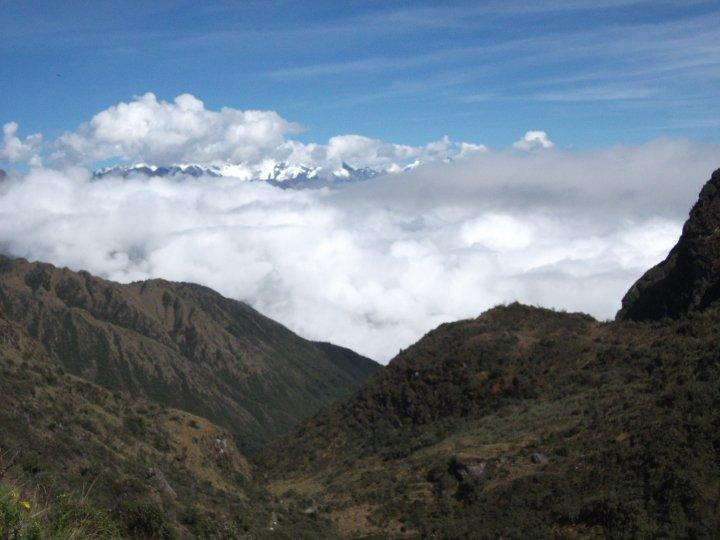 The mountains of the Inca Trail