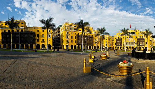 Lima historic city center, Peru
