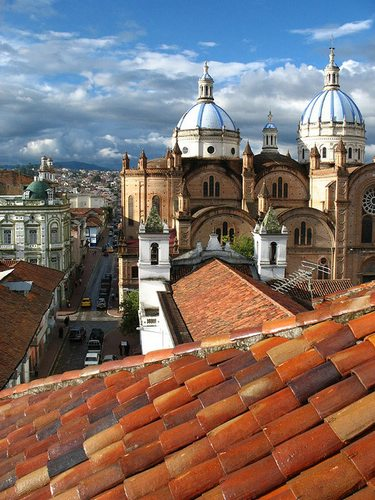 New Cathedral, Cuenca, Ecuador