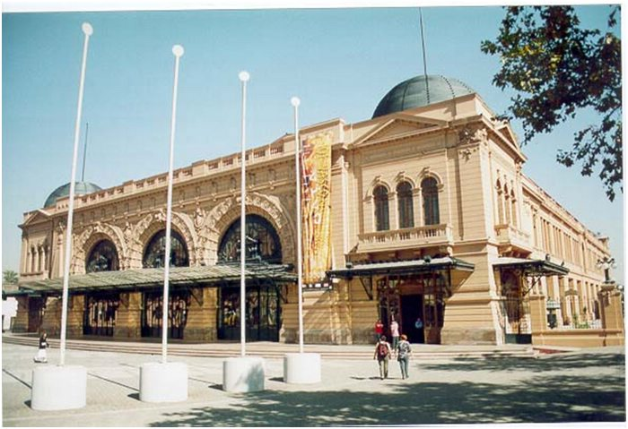 Mapocho Train Station in Santiago, Chile