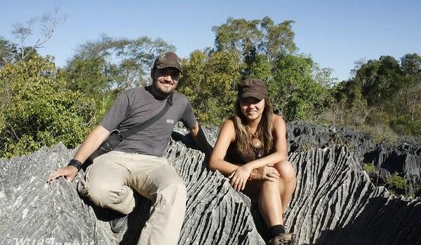 Nellie Huang and Alberto Molero of WildJunket.com