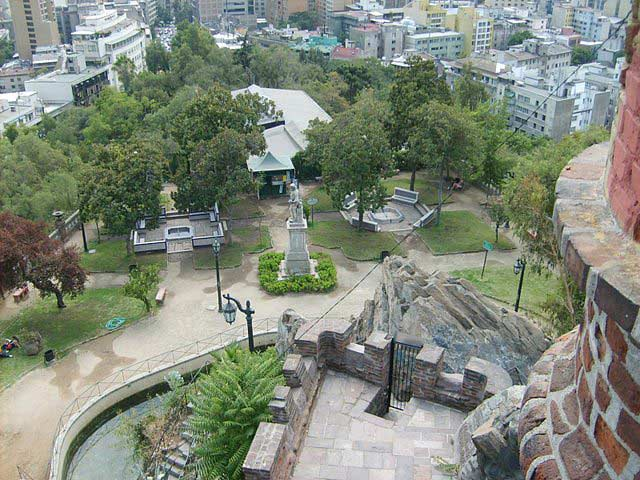Plaza Pedro de Valdivia, Santiago, Chile