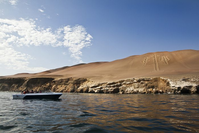 exploring the paracas national reserve in Peru