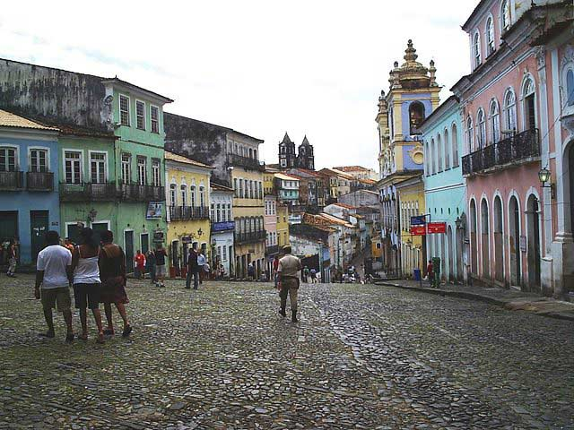 Pelourinho in Salvador de Bahia