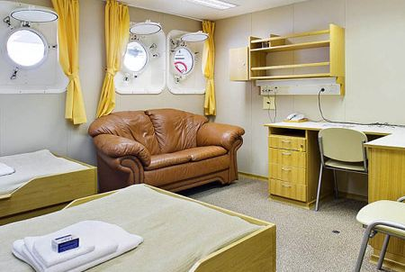 Cabin on Sergey Vavilov Ship, Antarctica travel with Argentina For Less