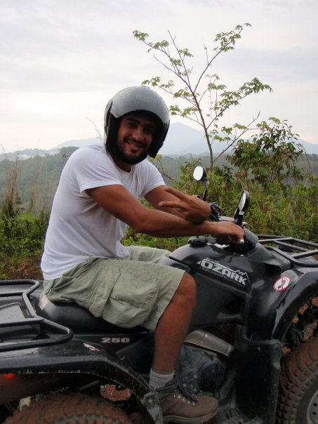 ATV ride in Costa Rica