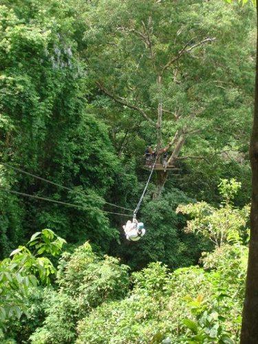 Zip-line Coast Rica