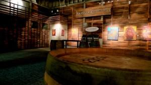 The beautiful cava (cellar) at Familia Zuccardi