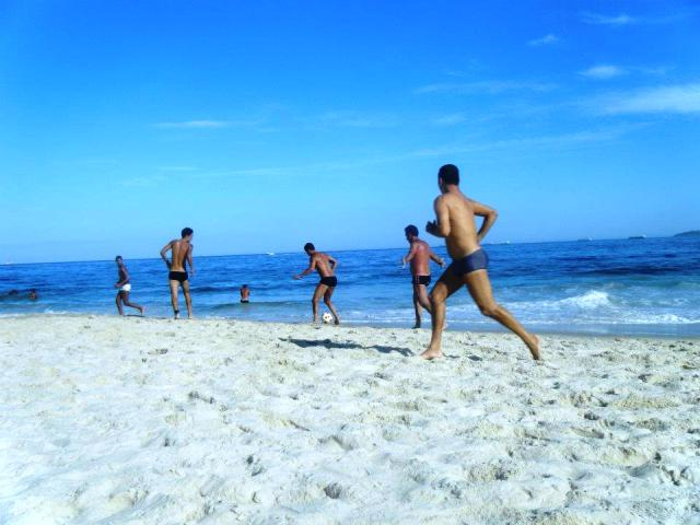 Foot volley at Copacabana