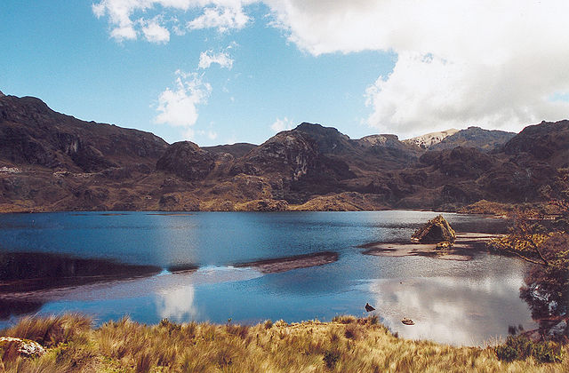 Beautiful glacier-carved lagoons dot the cloud forest and paramo highlands of this national park near Cuenca.