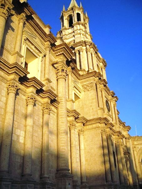 Cathedral, Arequipa City