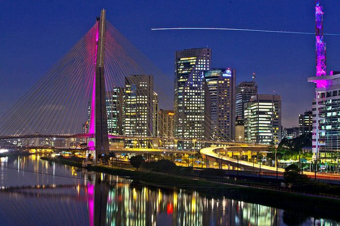 Octavo Frias Bridge Sao Paulo