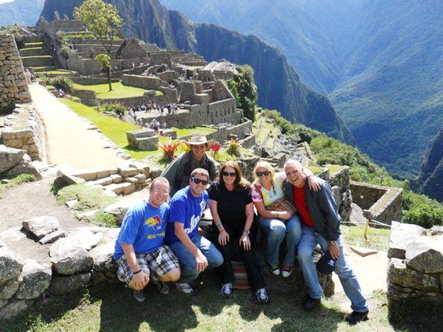 Goering Family, Machu Picchu tour, Peru