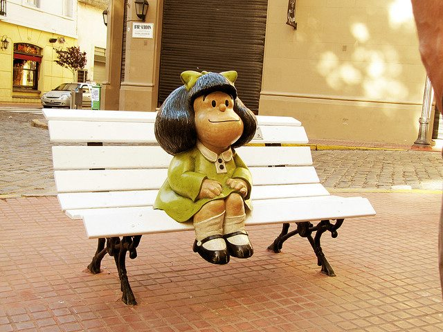 Mafalda, an iconic Argentine cartoon