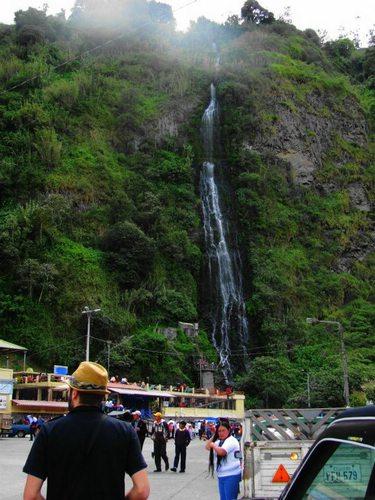 Baños de Agua Santa in Ecuador