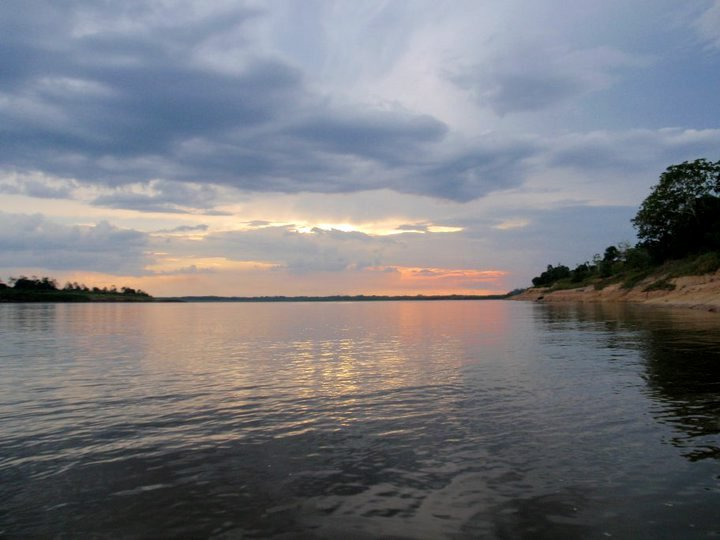 The evenings along the Ucayali River are awe-inspiring.