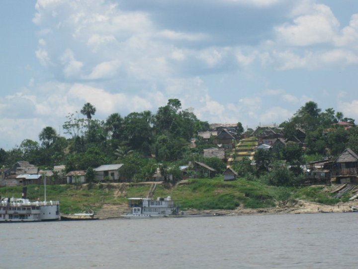 Nauta is a remote village along the Ucayali River bank approximately two hours away from Iquitos.