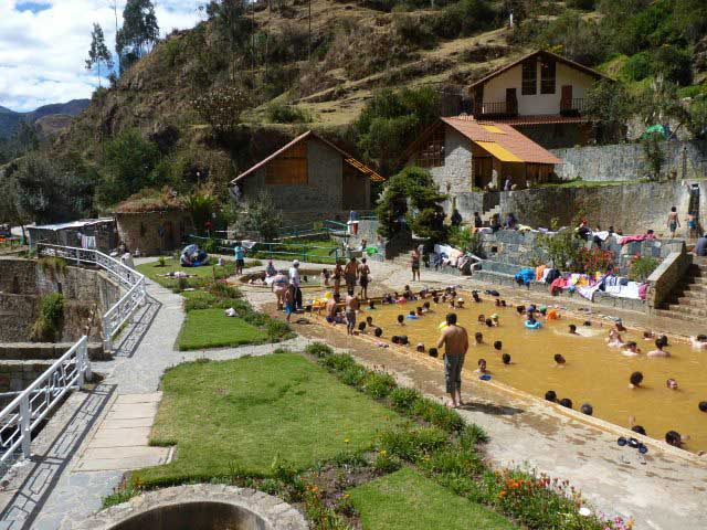 Lares hot springs, Sacred Valley, Peru