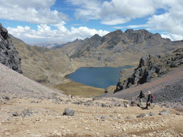 Lares trek, Laguna Aruraycocha
