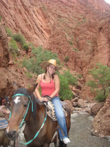 Kristina's unconventional Bolivian sight-seeing tour by horseback.