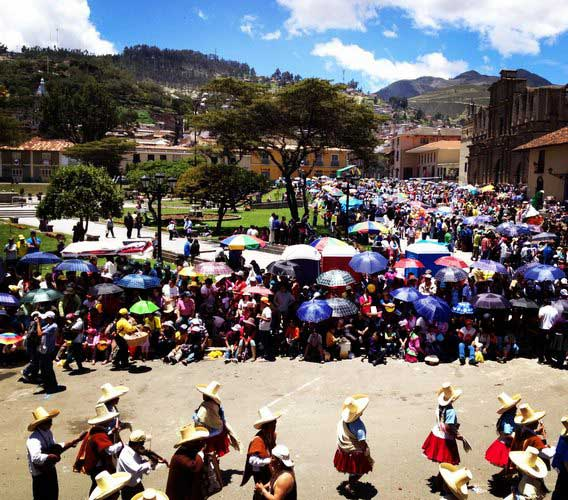The Colorful Carnival Parade in Cajamarca